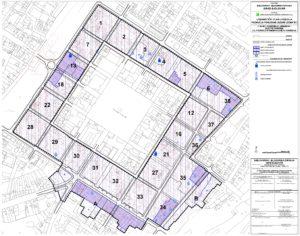 """UPU područja Povijesne jezgre Grada Bjelovara (zona """"B"""") - Uvjeti korištenja, uređenja i  zaštite površina"""