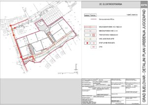 Detaljni plan uređenja Jugozapad - Elektroopskrba