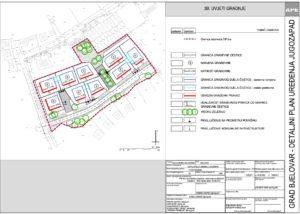 Detaljni plan uređenja Jugozapad - Uvjeti gradnje