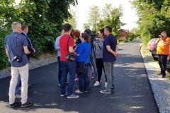 Gradonačelnik Grada Bjelovara Dario Hrebak obišao novosfaltirane ulice u Cigleni FOTO: Grad Bjelovar https://www.bjelovar.hr/