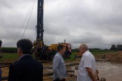 U tijeku je iskapanje zamjenskoga bunara u Delovima pokraj Novigrada Podravskoga, koji će se uključiti u javnu vodoopskrbu Bjelovara.
