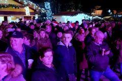 Doček Nove 2019. godine u Bjelovaru, na gradskom paviljonu // FOTO: Grad Bjelovar https://www.bjelovar.hr/