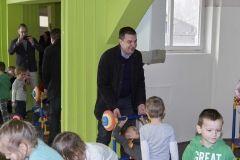 Dječji vrtić Bubamara otvorio sportsku dvoranu, 16. veljače 2018. FOTO: Grad Bjelovar