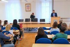 U velikoj vijećnici Grada Bjelovara danas je održan prvi projektni sastanak projekta Erasmus KA2 strateška partnerstva, 16. listopada 2018. FOTO: Grad Bjelovar https://www.bjelovar.hr/
