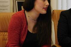 Konferencija za novinare na kojoj je gradonačelnik Dario Hrebak sa svojim suradnicima pobliže je upoznao javnost o potpisanom ugovoru o sufinanciranju iz Programa podrške poboljšanju materijalnih uvjeta u osnovnim i srednjim školama. 3. studenoga 2017., ured gradonačelnika FOTO: Kristina Turković Lovrić www.bjelovar.hr
