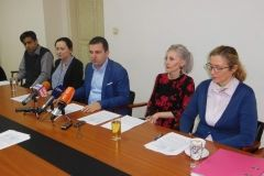 Na konferenciji za novinare predstavljen bjelovarski projekt digitalnog inovacijskog centra (HUB-a), 19. siječnja 2018., mala vijećnica Grada Bjelovara FOTO: Grad Bjelovar www.bjelovar.hr