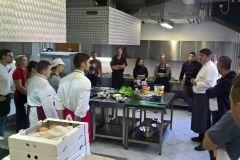 Edukacija bjelovarskih ugostitelja za dobivanje certifikata o završenoj obuci za pripremu Majburgera, 16. listopada 2017., prostori Turističko-ugostiteljske i prehrambene škole Bjelovar FOTO: Grad Bjelovar www.bjelovar.hr