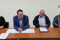 Na konferenciji za novinare zamjenik gradonačelnika Grada Bjelovara Igor Brajdić, sa suradnicima, predstavio je iskorištenost Mjera za pčelarstvo u 2018. godini. Također, predstavljeno je i dvodnevno stručno studijsko putovanje u Gornju Austriju za pčelare Grada Bjelovara koje Grad Bjelovar organizira u suradnji sa Saveznim ministarstvom održivosti i turizma Republike Austrije i Poljoprivrednom komorom Gornje Austrije. / 13. travnja 2018., mala vijećnica Grada Bjelovara FOTO: GHrad Bjelovar https://www.bjelovar.hr