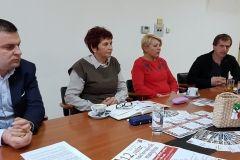 Na konferenciji za novinare u Gradskoj upravi Grada Bjelovara najavljena 12. večer nacionalnih manjina, 14. studenog 2018., mala vijećnica Grada Bjelovara FOTO: Grad Bjelovar https://www.bjelovar.hr/