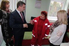 U jutarnjim satima prvog dana 2018. godine gradonačelnik Dario Hrebak i zamjenica Valna Bastijančić Erjavec, zajedno s predstavnicima Županije, posjetili su dežurne službe u Bjelovaru. FOTO: Branka Sobodić, Bjelovar Info medij