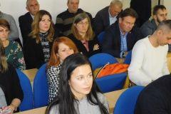 U velikoj vijećnici Gradske uprave u Bjelovaru održana je panel diskusija Investicijski potencijal Grada Bjelovara te predstavljanje potpora poduzetnicima, 17. prosinca 2017. FOTO: Kristina Turković Lovrić www.bjelovar.hr