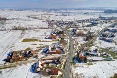 Na konferenciji za novinare predstavljen je projekt rekonstrukcije križanja nerazvrstane ceste i državne ceste 28 u Patkovcu te gradnja pješačkih staza, 9. ožujka 2018., mala vijećnica Grada Bjelovara FOTO: Štefan Brajković