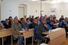Predstavljene potpore i aktivnosti Grada Bjelovara vezane uz poljoprivredu, 29. listopada 2018., velika vijećnica Grada Bjelovara FOTO: Grad Bjelovar https://www.bjelovar.hr/
