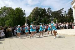 Proslavljen Međunarodni praznik rada, 1. svibnja 2018., središnji gradski park FOTO: Grad Bjelovar https://www.bjelovar.hr