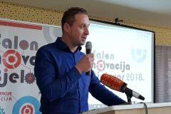 Održan Salon inovacija 2018., 3. listopada 2018., Hotel Central u Bjelovaru FOTO: Grad Bjelovar https://www.bjelovar.hr/