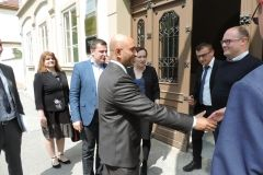 Nj. E. gospodin Sandeep Kumara, veleposlanik Indije, posjetio Grad Bjelovar. Prilikom posjeta našem gradu veleposlanik je obišao i Tehnološki park Bjelovar., 23. travnja 2018. FOTO: Grad Bjelovar https://www.bjelovar.hr/