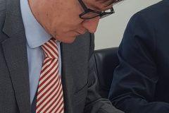 Potvrđeno Ugovorom - Bjelovar uskoro bliži Zagrebu! U Bjelovaru potpisan ugovora za početak radova na dogovorenoj dionici od Gudovca do Farkaševca, koja bi omogućila prometovanje već izgrađenom dionicom brze ceste od Farkaševca do Zagreba, čime će se Bjelovarčanima putovanje do glavnoga grada skratiti za 15-ak minuta // 12. rujna 2018. FOTO: Grad Bjelovar https://www.bjelovar.hr