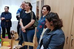 U V. osnovnoj školi Bjelovar s radom je počela grupa za predškolsku djecu pod nazivom AT vrtić. Za šestero mališana, koliko ih je trenutačno upisano, bit će zaduženi stručnjaci na edukacijsko-rehabilitacijskom polju te pomoćni djelatnik za skrb i njegu, uz potporu cjelokupnog stručnog edukacijsko-rehabilitacijskog tima škole. // 5. studenog 2018. FOTO: Grad Bjelovar https://www.bjelovar.hr/