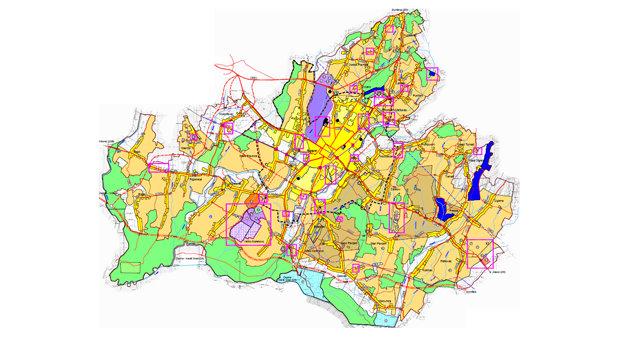 Prostorni plan uređenja Grada Bjelovara - Izmjene i dopune