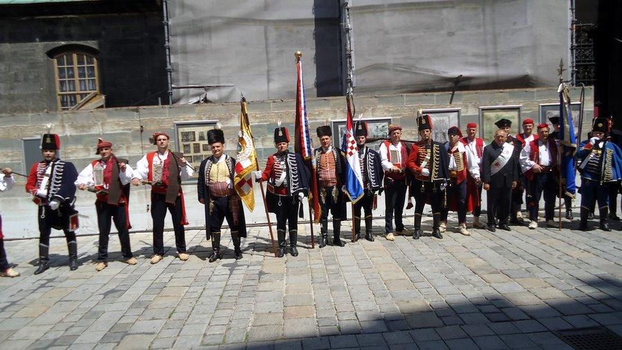 Bjelovarski Husari na posljednjem ispraćaju nadvojvode Otta von Habsburga
