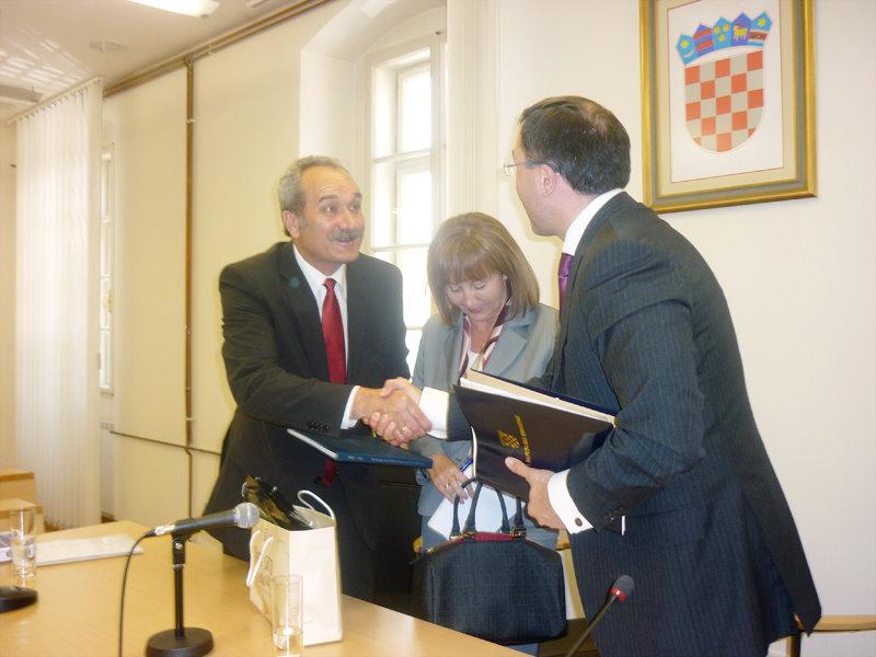 Potpredsjednik Vlade RH za investicije Domagoj Ivan Milošević u Gradu Bjelovaru