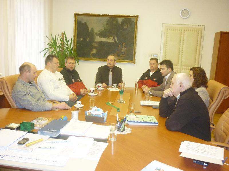 Gradonačelnik primio natjecatelje Atletskog kluba Sokol Bjelovar