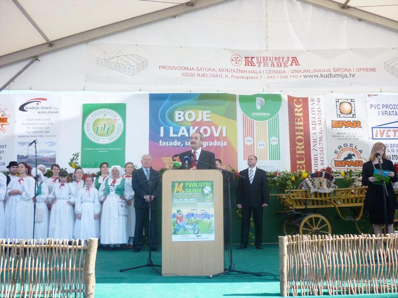 Uspješno završen 14. proljetni međunarodni bjelovarski sajam