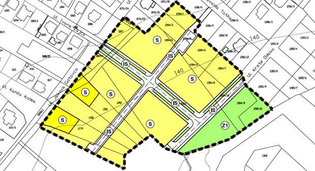 Urbanistički plan uređenja istočno od Ulice Jakova Gotovca
