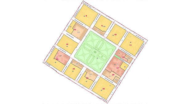 Urbanistički plan uređenja povijesne jezgre grada Bjelovara – zona A – izmjena i dopuna