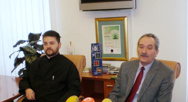 Gradonačelnik primio novopostavljenog pravoslavnog svećenika