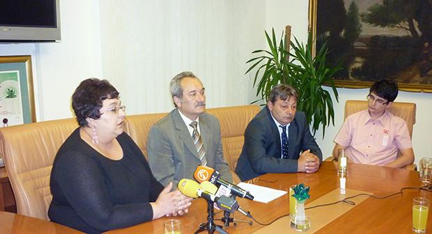 Prijem Bjelovarskog kazališta u povodu osvojene nagrade na pedeset i drugom Festivalu hrvatskih kazališnih amatera