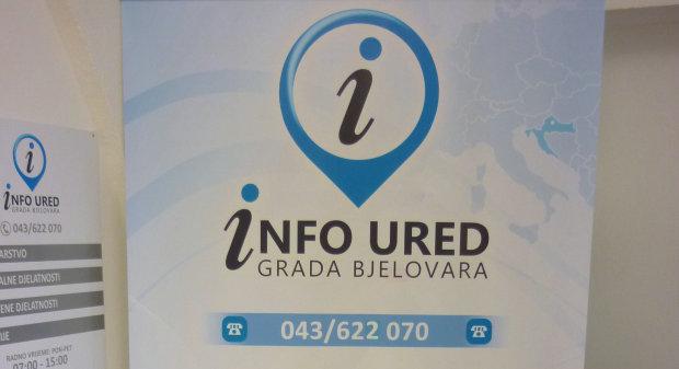 Predstavljen Info ured Grada Bjelovara, 19. ožujka 2014. FOTO: Dubravka Dragičević www.bjelovar.hr