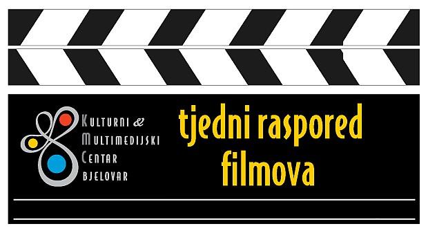 Kulturni i multimedijski centar Bjelovar - kino - tjedni raspored filmova