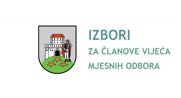 Izbori za članove/članice vijeća mjesnih odbora na području Grada Bjelovara