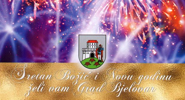 Blagoslovljen Božić te sretnu i uspješnu 2017. godinu žele Vam gradonačelnik Grada Bjelovara Antun Korušec, zamjenice gradonačelnika Jasna Višnjević i Lidija Novosel, predsjednica Gradskog vijeća Vanja Posavac i članovi Gradskog vijeća