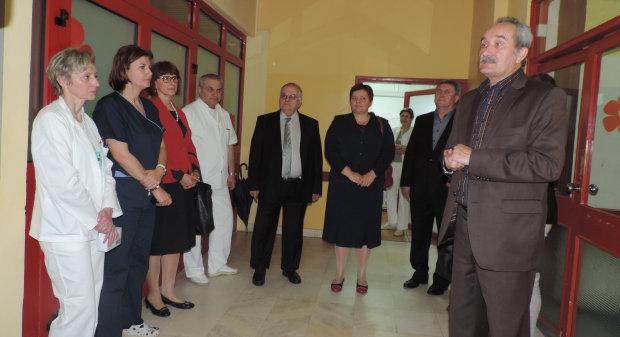 Posjet bolnici u povodu Dana sestrinstva i Dana obitelji 2016., 12. svibnja 2016., Opća bolnica Bjelovar FOTO: Dubravka Dragičević www.bjelovar.hr