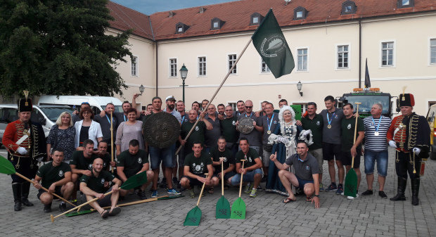 Svečani doček bjelovarskih Argonauta, prvaka 19. Maratona lađa, 15. kolovoza 2016. FOTO: Kristina Turković www.bjelovar.hr