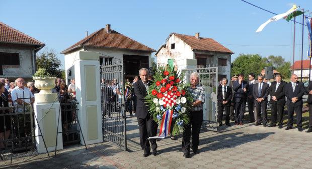 Održana komemoracija u Kusonjama, 8. rujna 2016. FOTO: Kristina Turković www.bjelovar.hr