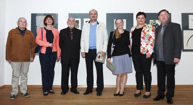 U Gradskom muzeju Bjelovar otvorena izloža Antona Cetina, 28. rujna 2016. FOTO: Kristina Turković www.bjelovar.hr