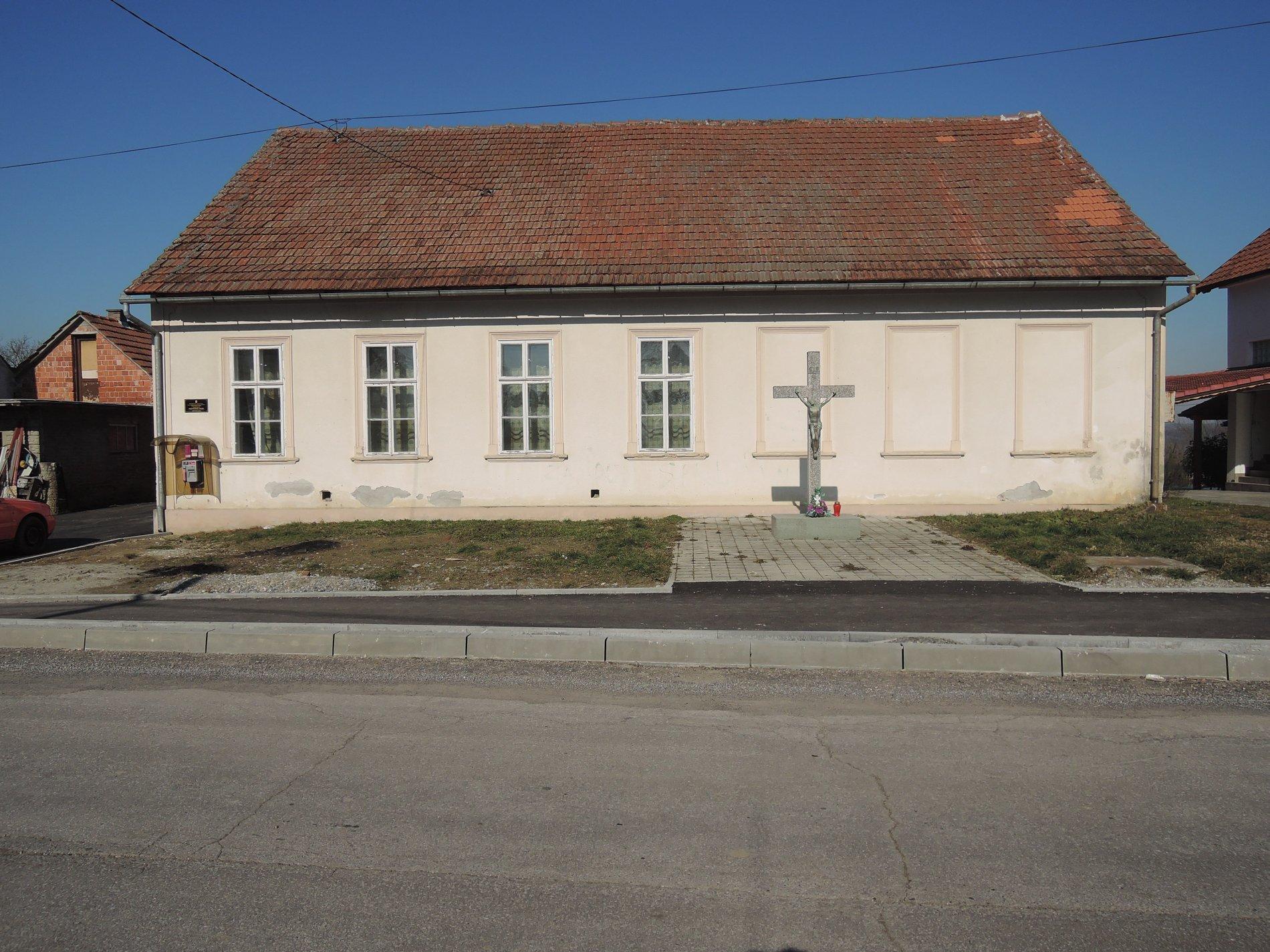 Poslovni prostori Grada Bjelovara - Mjesni dom Novoseljani, Milke Trnine 27