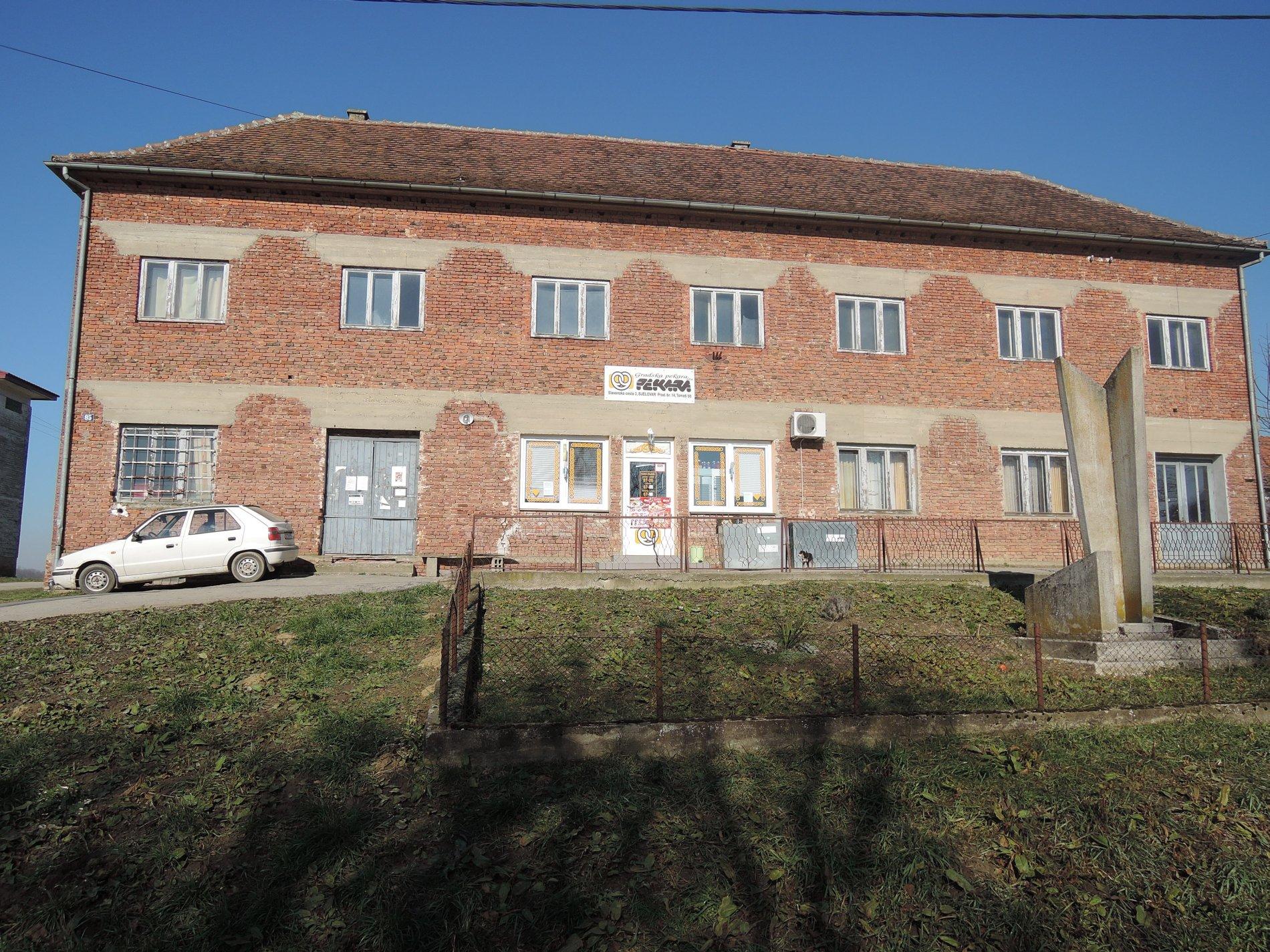 Poslovni prostori Grada Bjelovara - Mjesni dom Tomaš