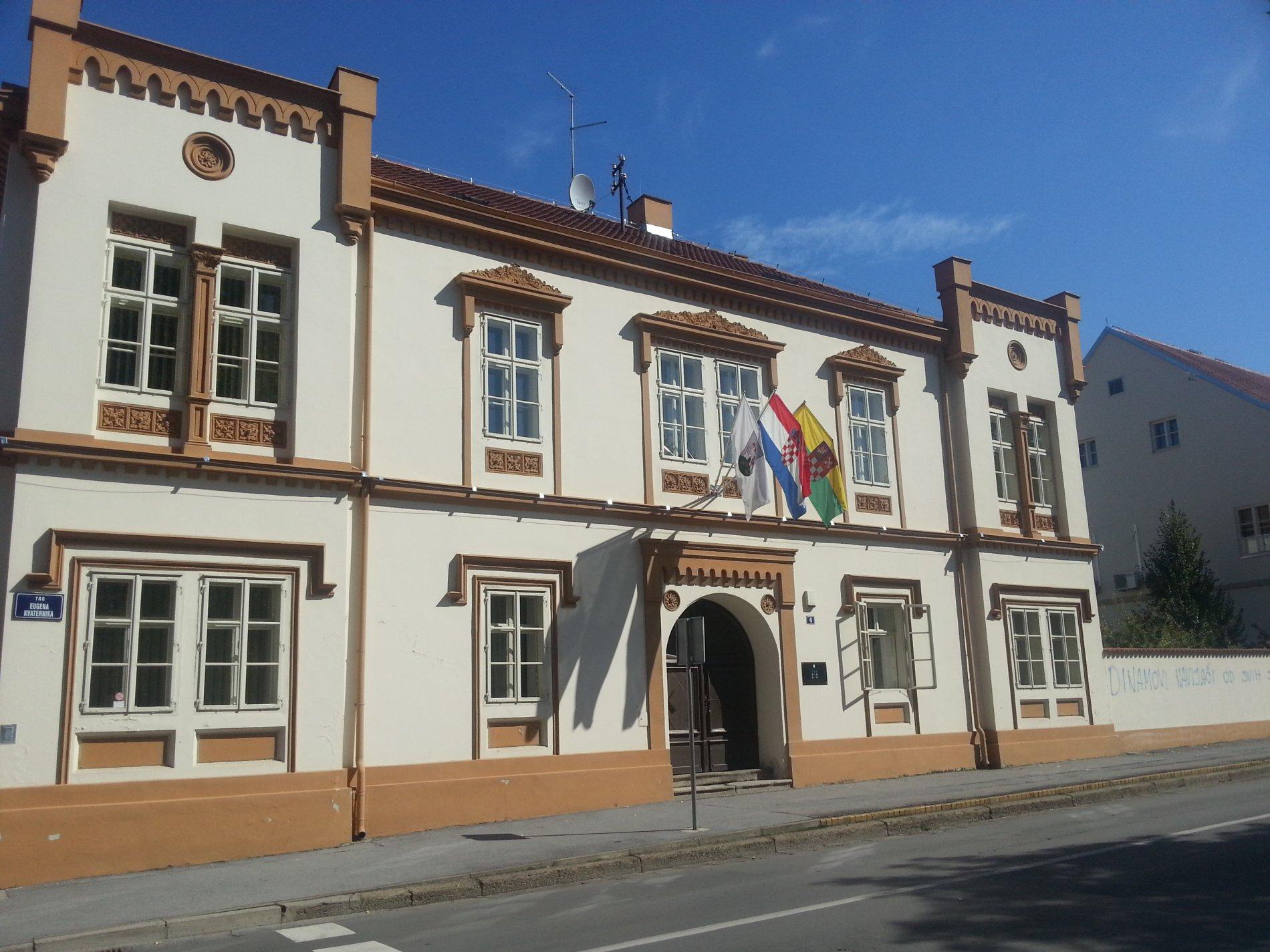 Poslovni prostori Grada Bjelovara - Trg Eugena Kvaternika 4