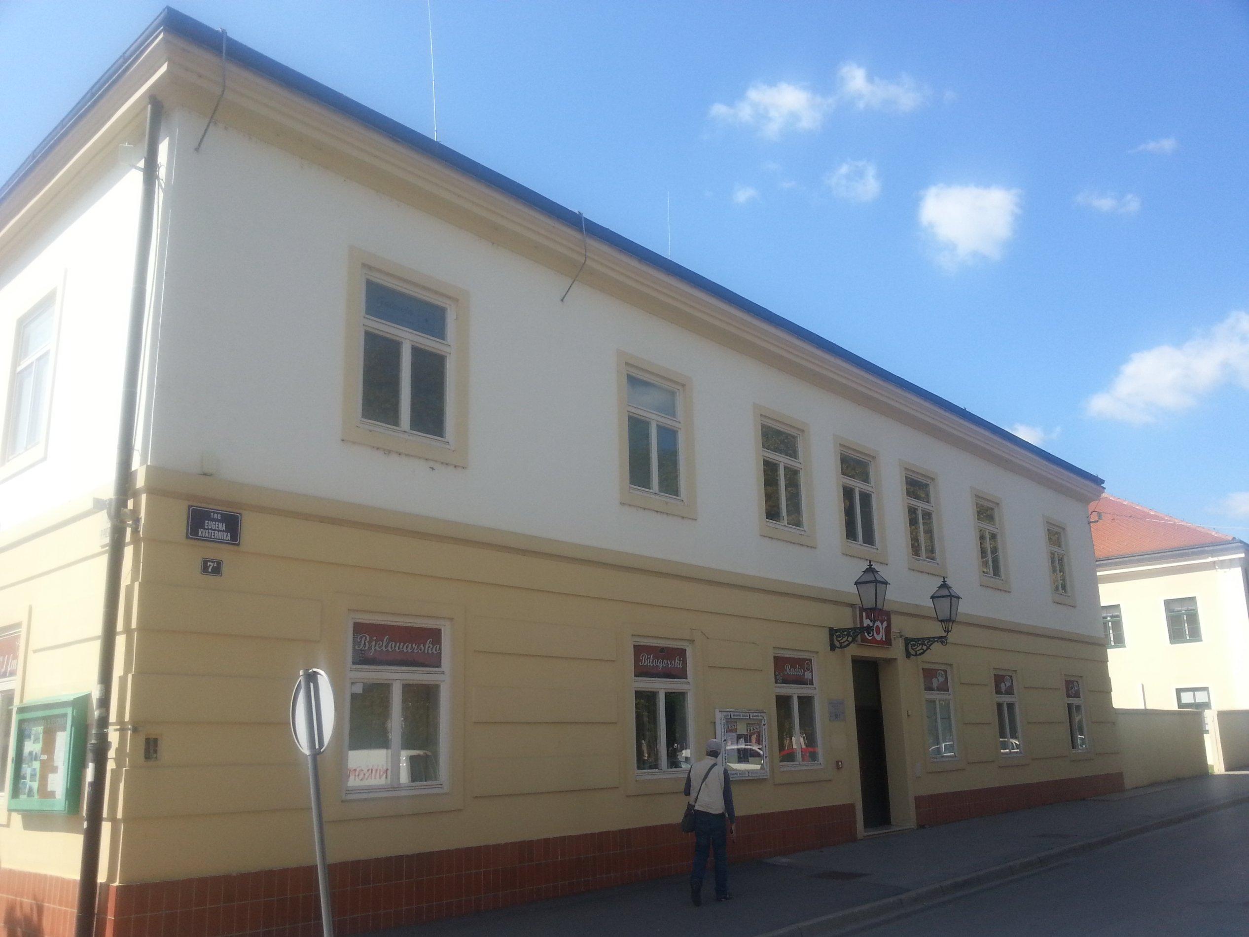 Poslovni prostori Grada Bjelovara - Trg Eugena Kvaternika 7a