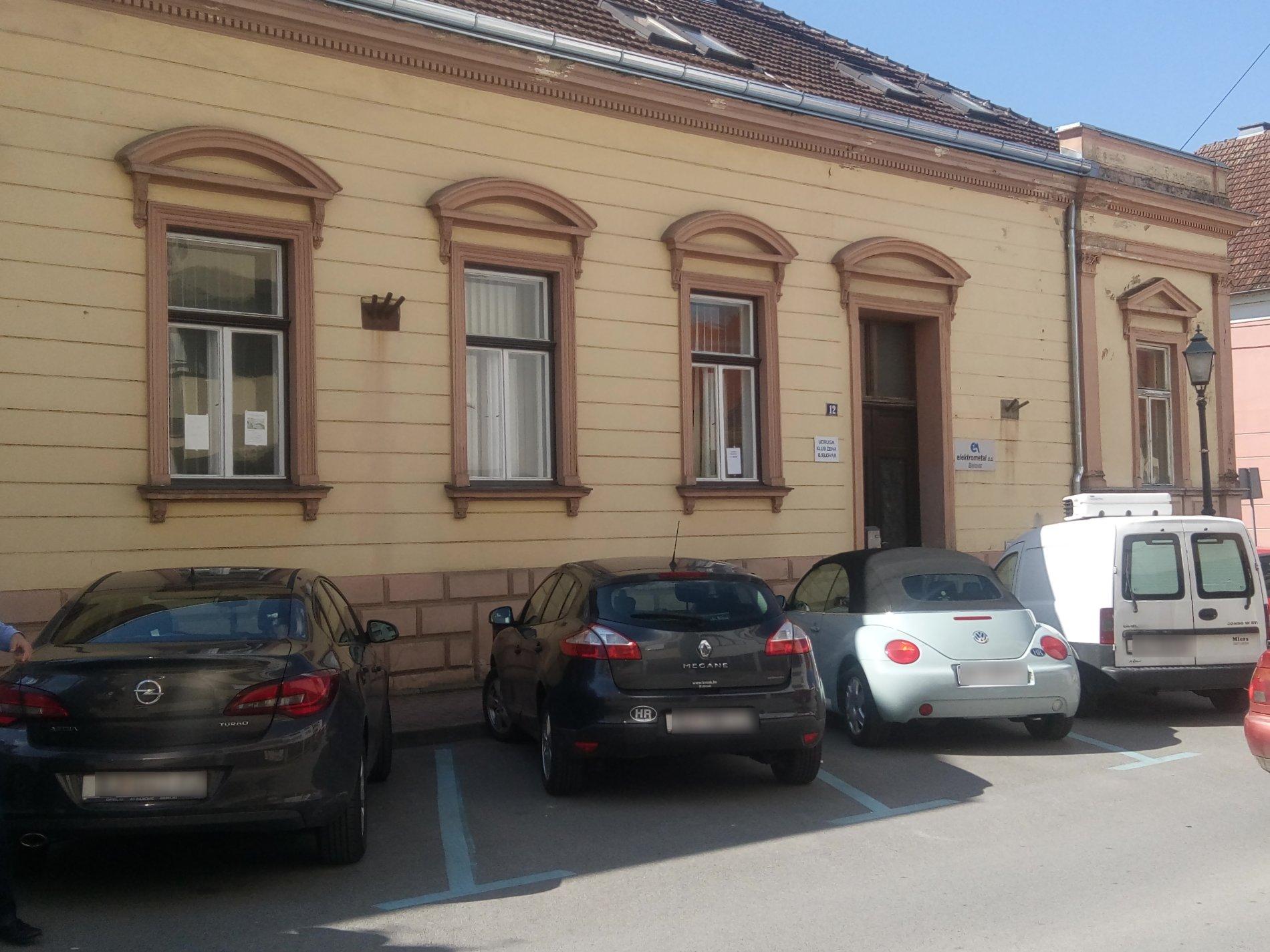 Poslovni prostori Grada Bjelovara - Ulica Ivana viteza Trnskog 12