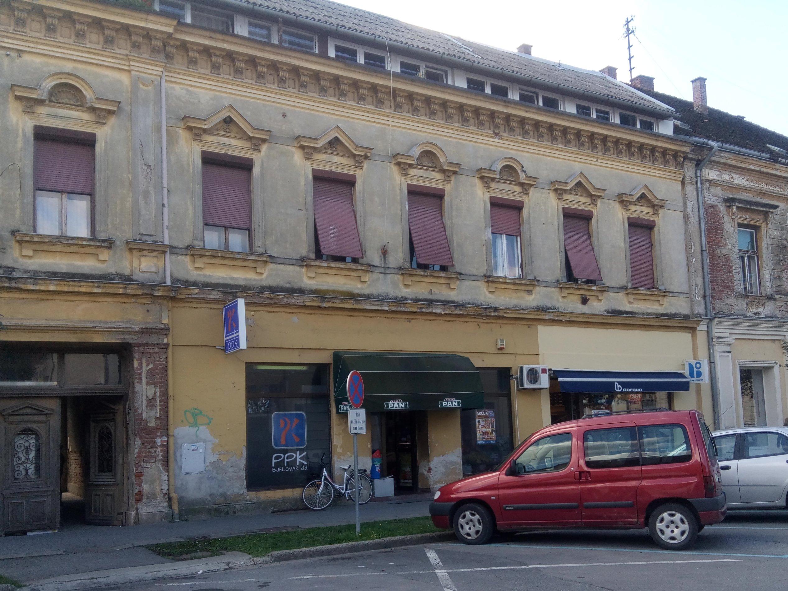 Poslovni prostori Grada Bjelovara - Ulica Vladimira Nazora 3