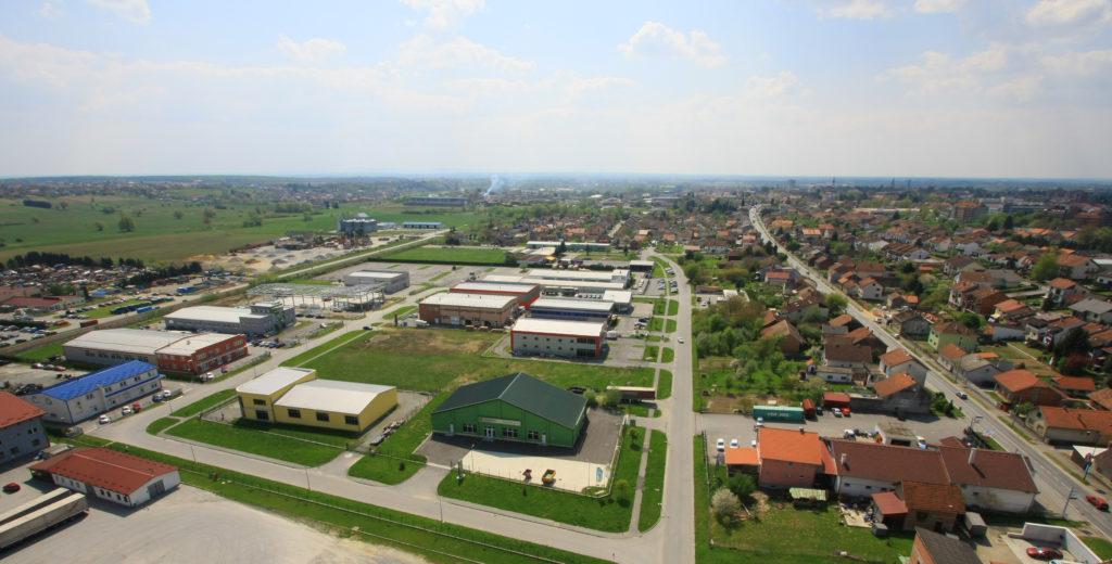 Poslovne zone Grada Bjelovara - poslovna zona Istok