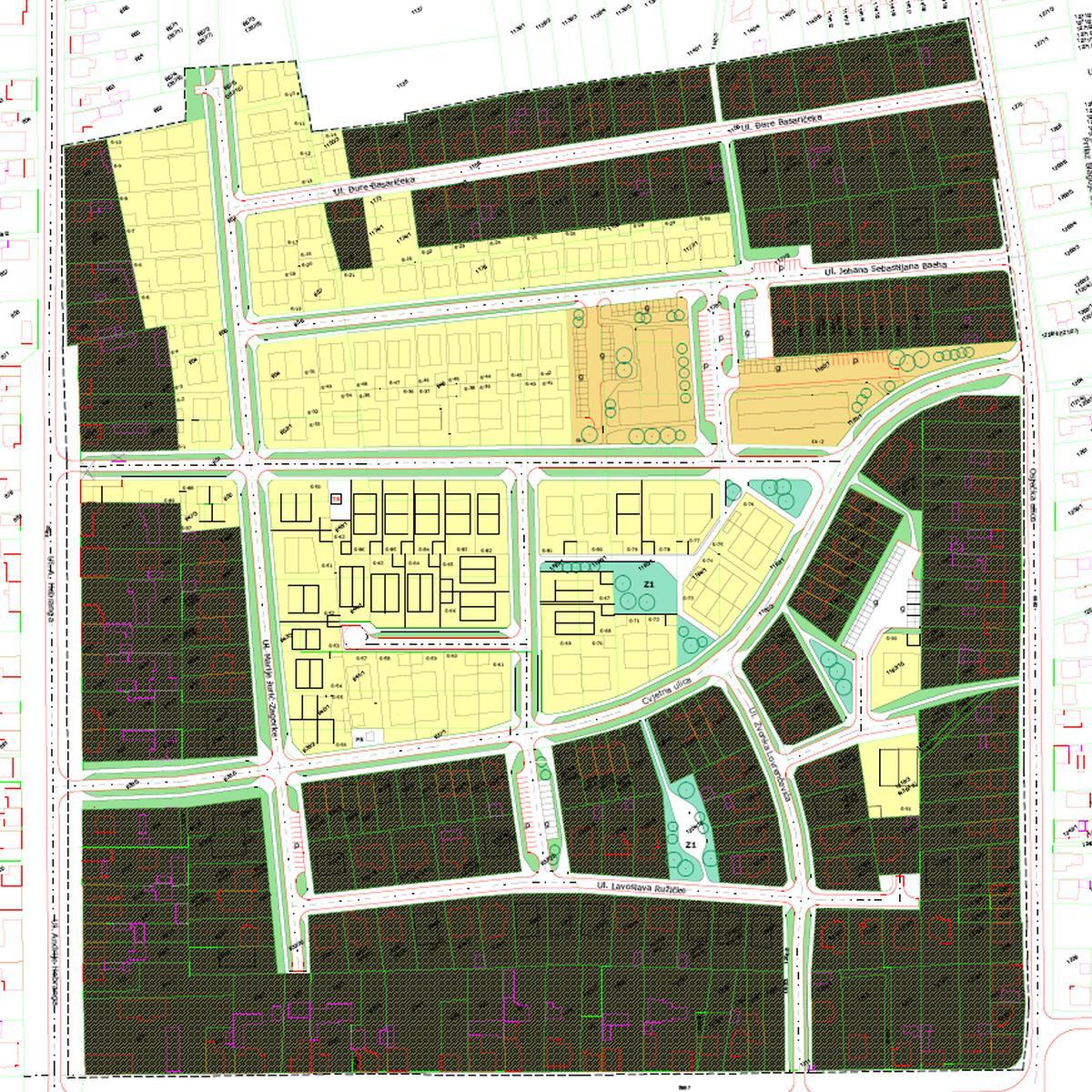 Detaljni plan uređenja Sjever I - 1. dio