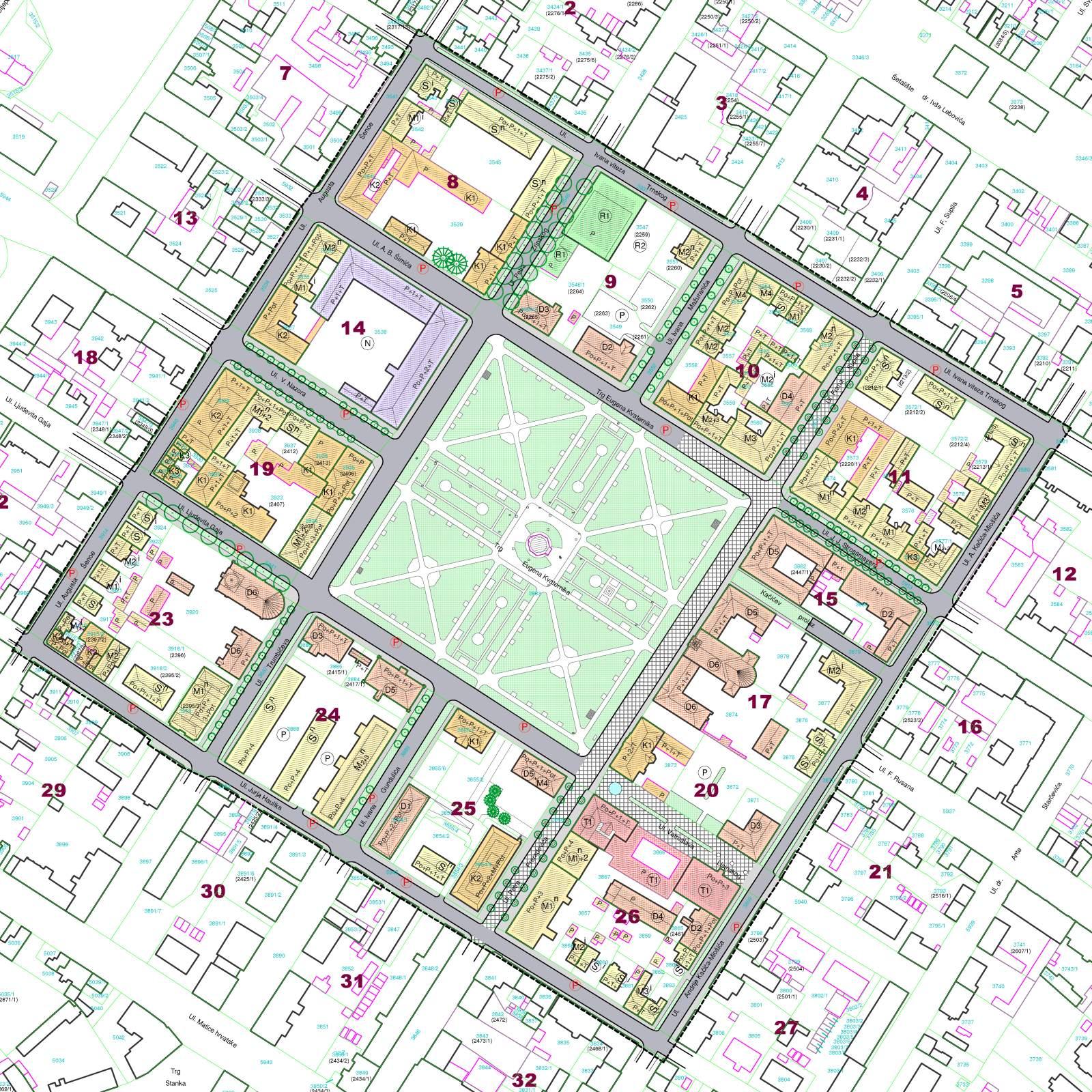 Urbanistički plan uređenja povijesne jezgre Grada Bjelovara - zona A