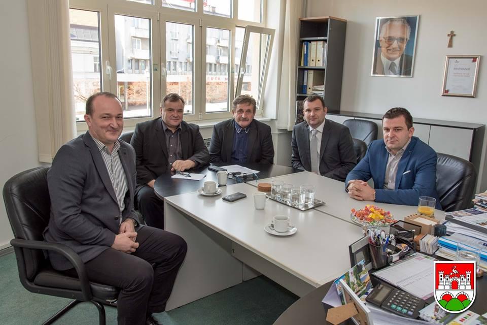 Sastanak gradonačelnika svih gradova Bjelovarsko-bilogorske županije FOTO: Grad Daruvar