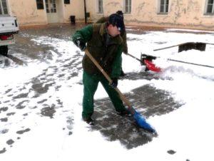 Obavijest o pomoći starijim i nemoćnim osobama u čišćenju snijega